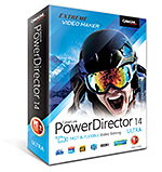 PowerDirector 14 Ultra - Edición de Video Rápida & Flexible