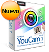 YouCam 7 Deluxe -  Video Estudio en Vivo Completo para tu Webcam