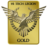 Gold Award - HI TECH LEGION, US