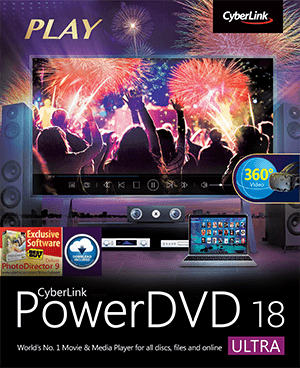 PowerDVD - El Reproductor No. 1 de Medios y Películas para discos, video, audio y video transmisión | CyberLink