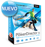 PowerDirector 15 - La Opción No. 1 de Video Editores
